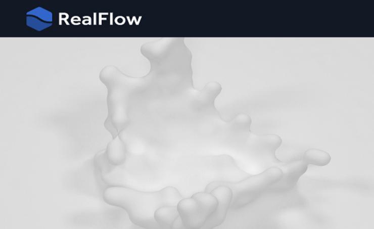 Realflow for Cinema4dを使ってみました パート1