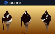 Realflow for Cinema4dを使ってみました パート2