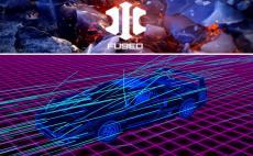 x-particlesとRedshiftのラインを使用した動画の制作